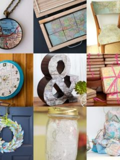 Over 20 Map Crafts You'll Love