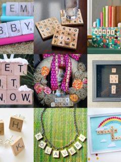 25 Scrabble Tile Crafts