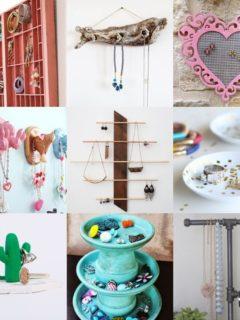 27 DIY Jewelry Organizers