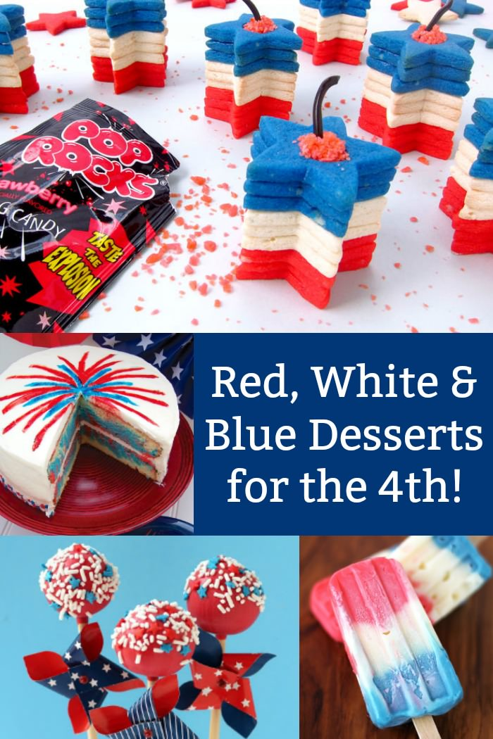 4th of July Desserts That Are Red, White & Delicious