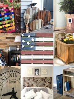 Pallet Projects: 30 Unique & Budget Friendly DIY Tutorials