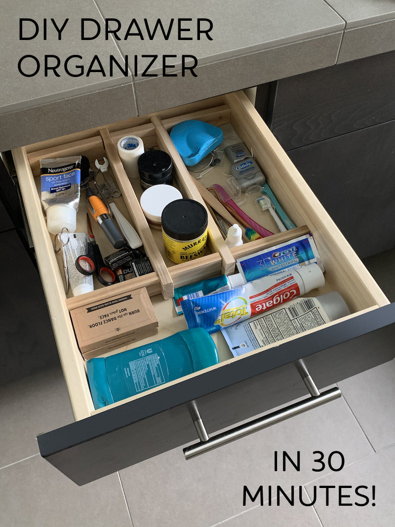 make a drawer organizer