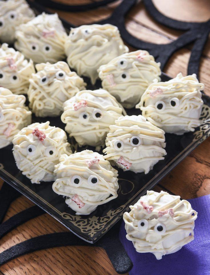 Halloween dessert truffles