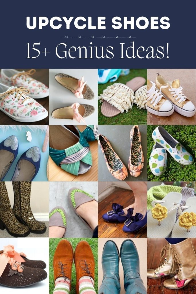 Over 15 Ways to Upcycle Shoes