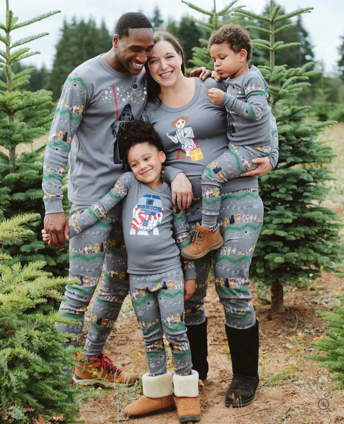 Star Wars matching family pajamas