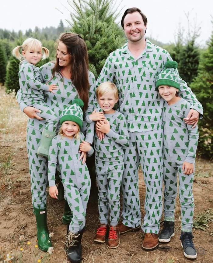 Family Tannenbaum pajamas
