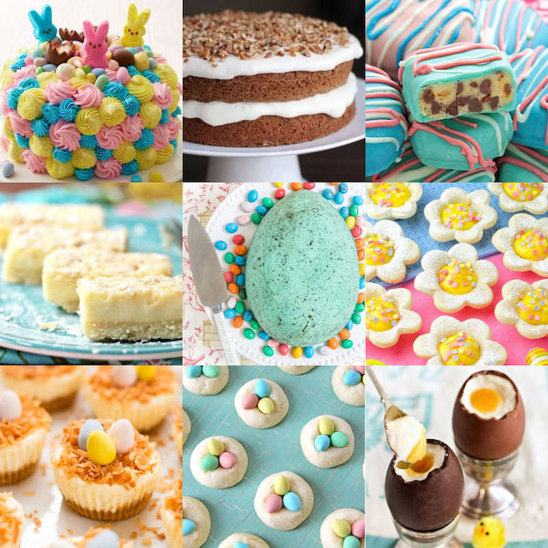 Easter desserts feature image