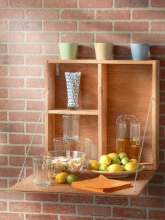 Make a DIY outdoor serving station
