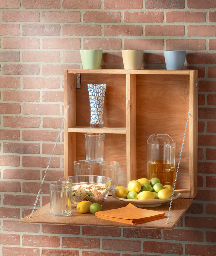 Make a DIY outdoor serving station