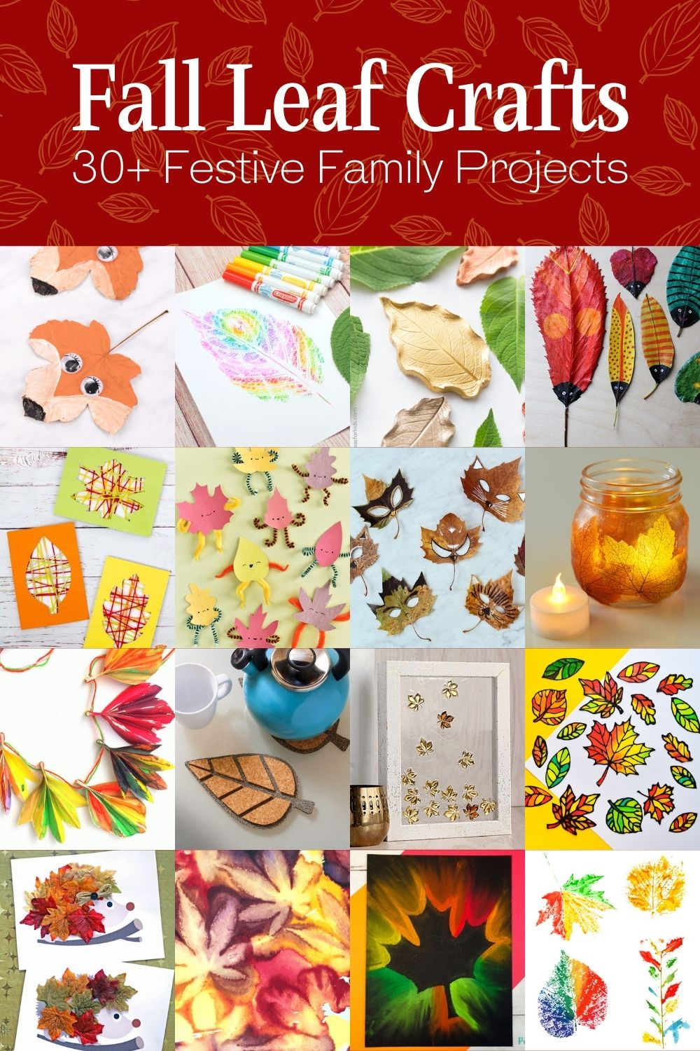 Over 30 Festive Fall Craft Projects for the Family
