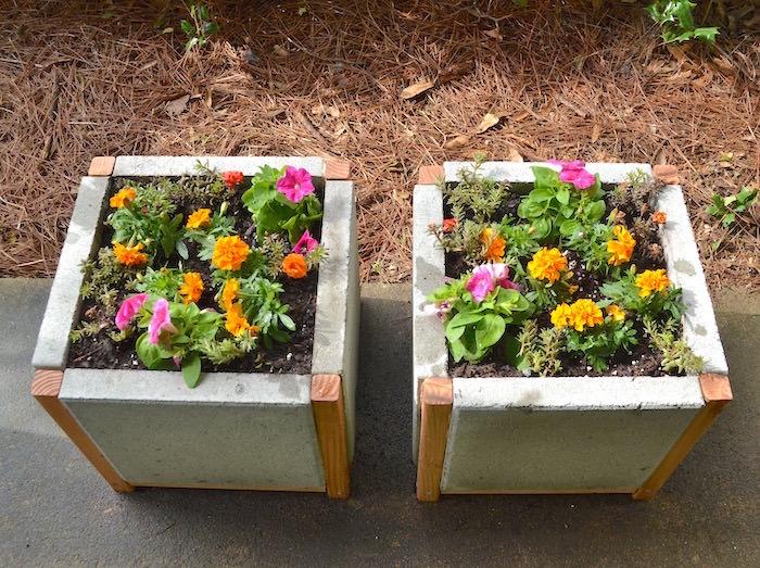 paver planter box