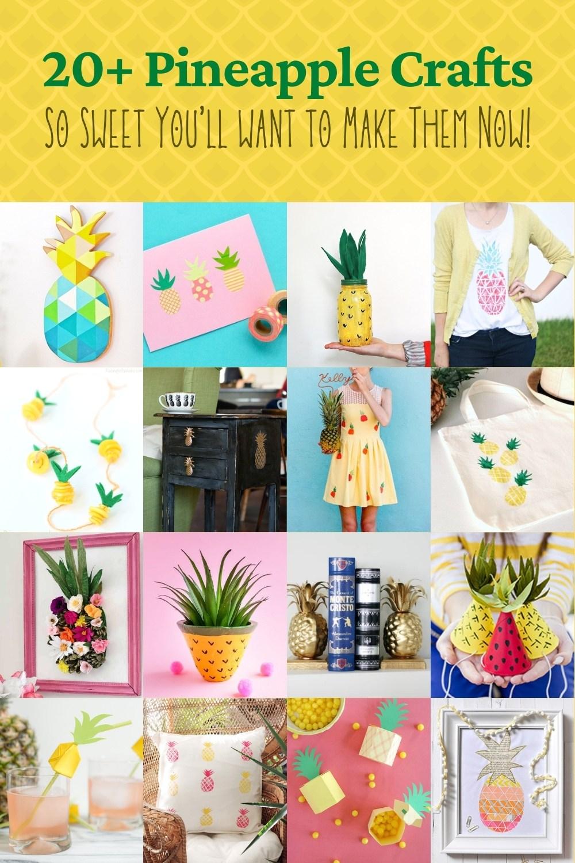 Cute Pineapple Crafts