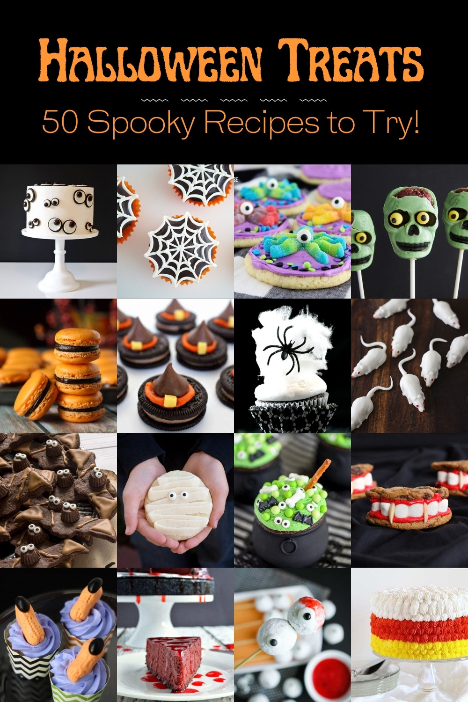 50 Spooky Halloween Treat Recipes to Try