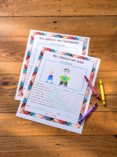 All-about-dad-printable