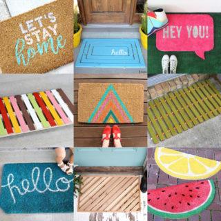 DIY Doormat feature image