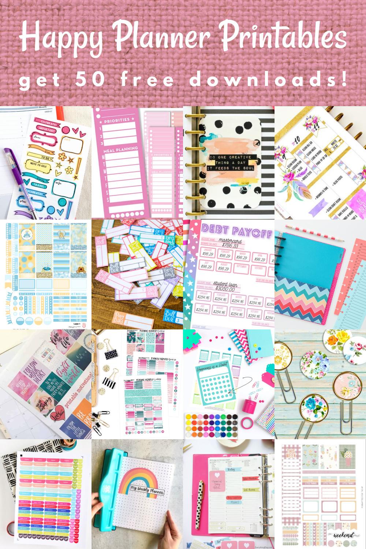 Free Happy Planner Printables