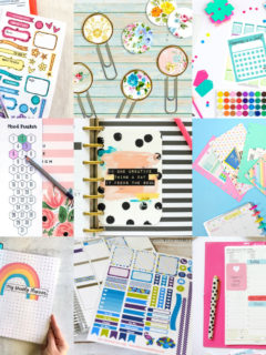 Happy Planner printables feature image