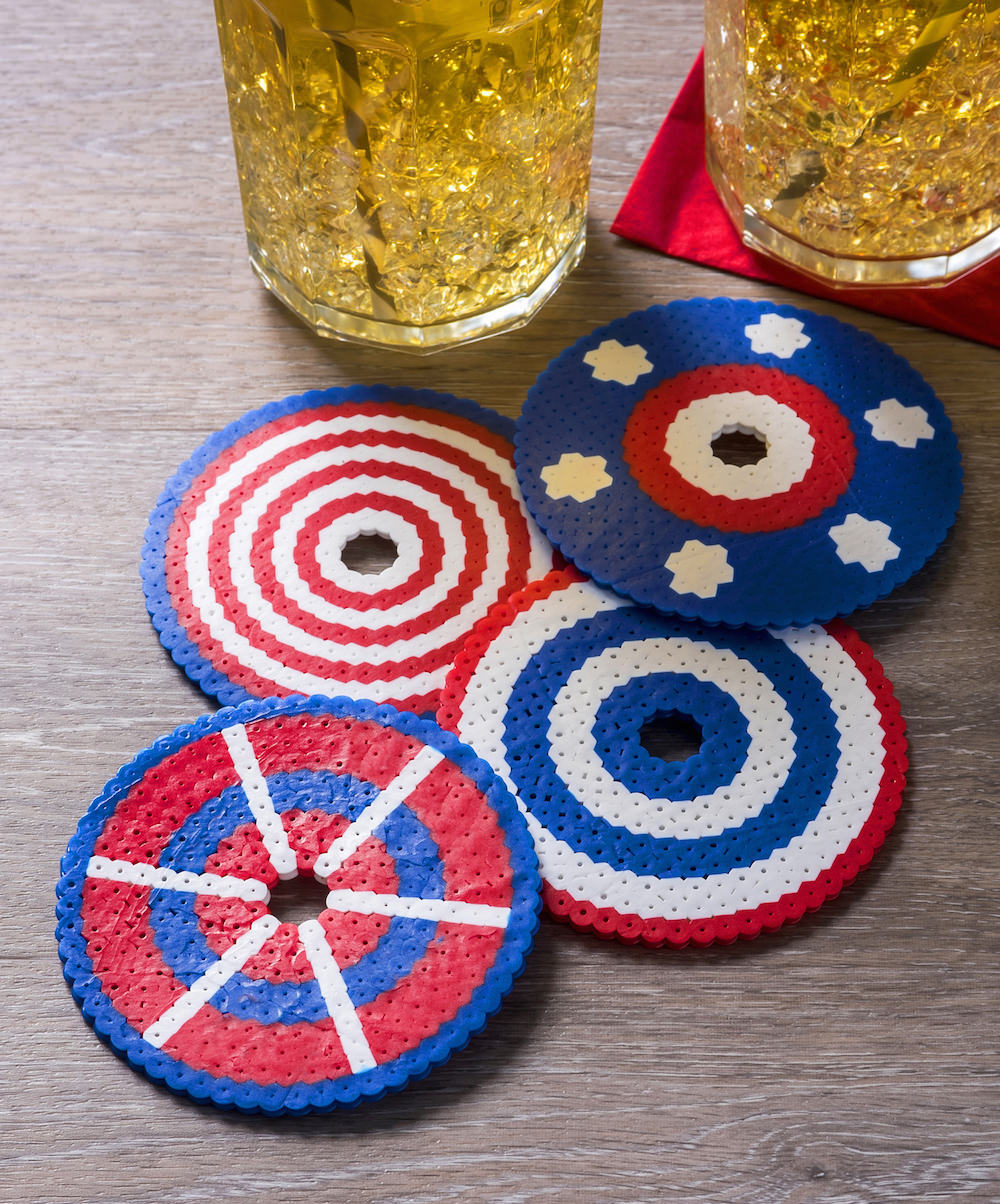 How to make drink covers using perler beads