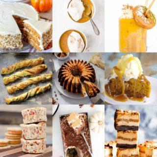 Pumpkin Desserts - 50 Recipes to Enjoy this Fall
