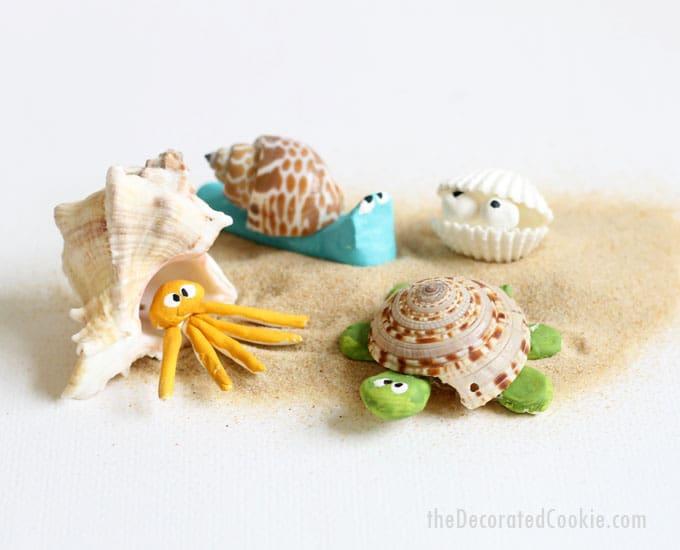 image seashell creatures 1a