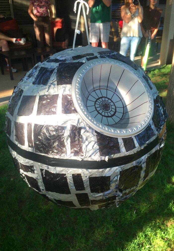 DIY Death Star Pinata