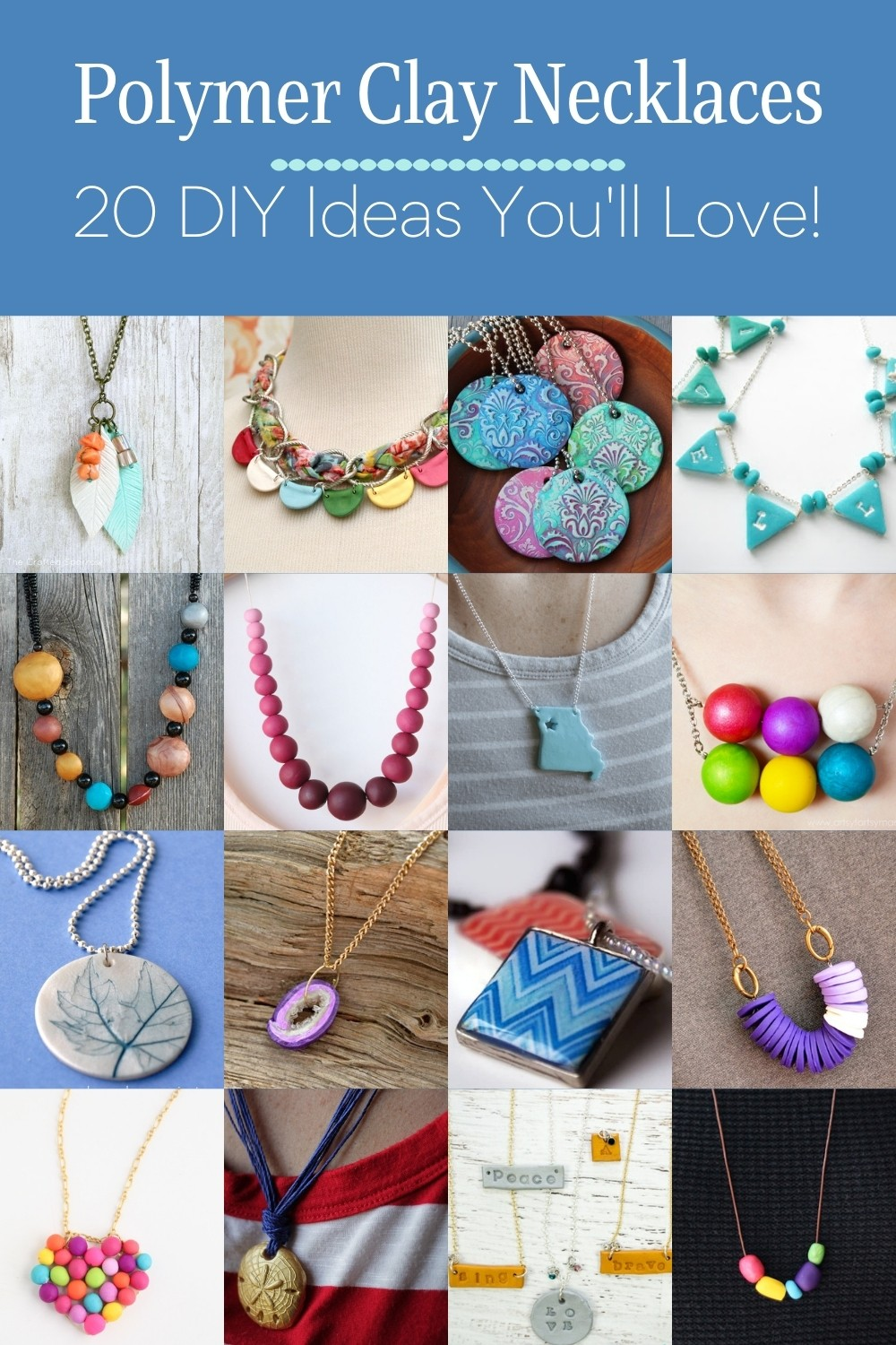 Polymer Clay Necklaces You Will Love