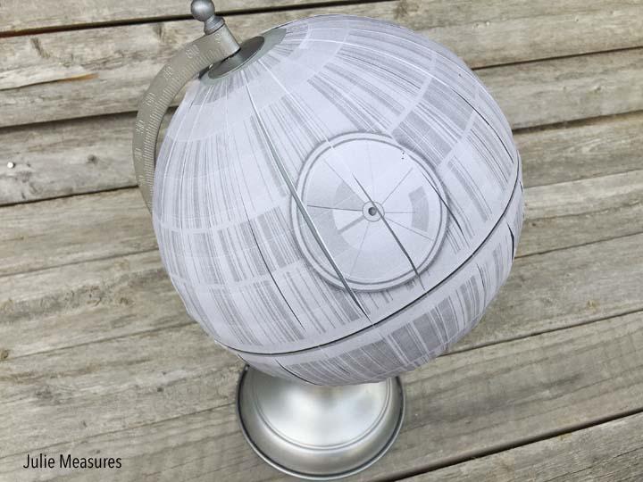 death star globe modge podge