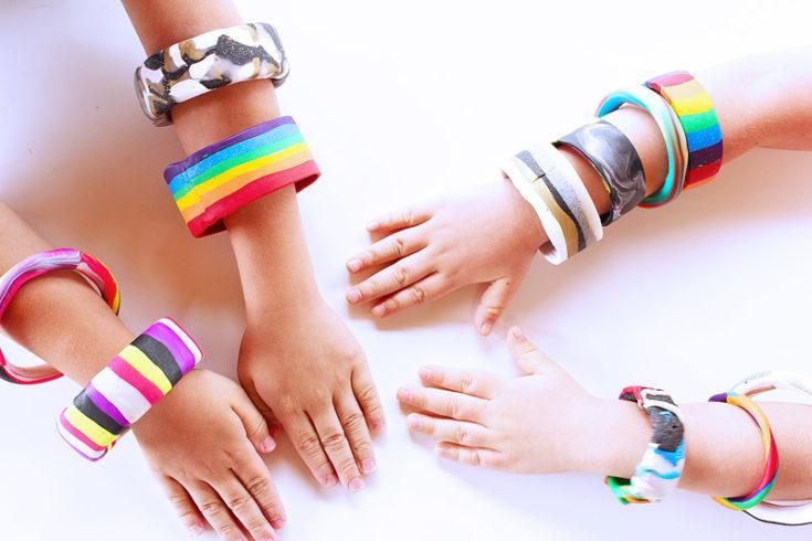 Easy Polymer Clay Bracelets BABBLE DABBLE DO hero1