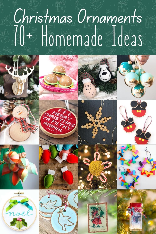 Over 70 DIY Christmas Ornaments