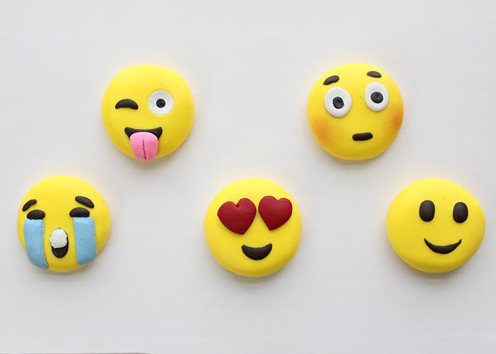 Polymer Clay Emoji Faces Tutorial 23