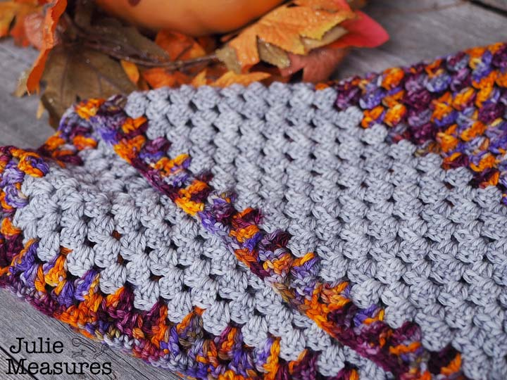 scarf granny square pattern