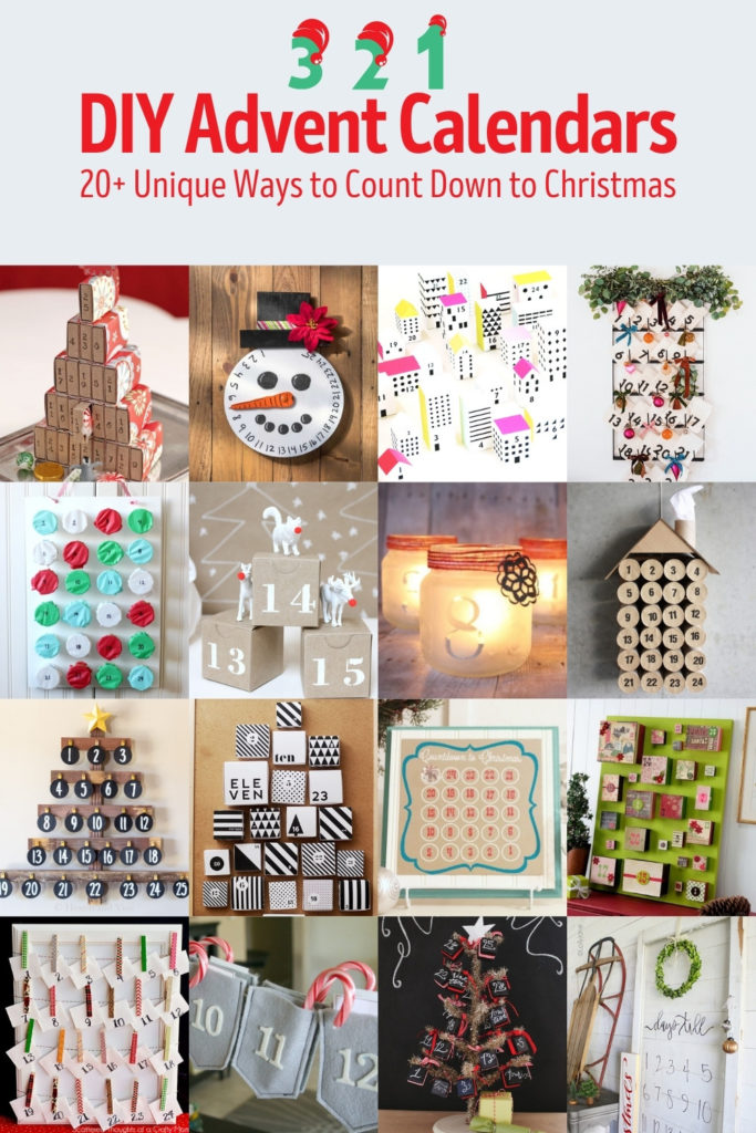 Over 20 DIY Advent Calendars to Make for Christmas this Year
