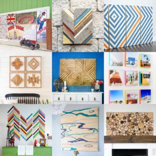 DIY Wood Wall Art feature image