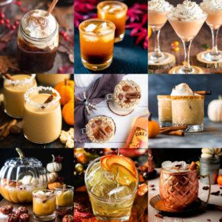 Pumpkin cocktails feature image