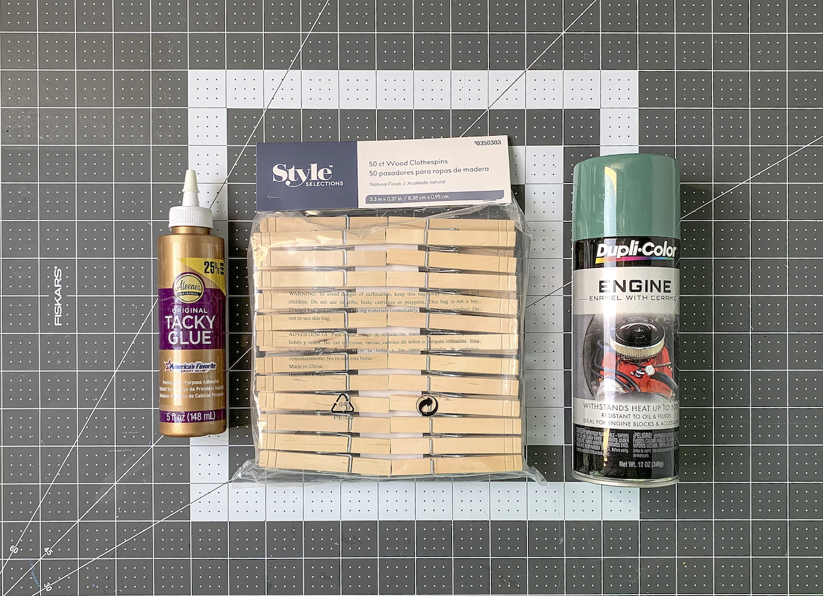 Clothespins-craft-glue-and-spray-paint