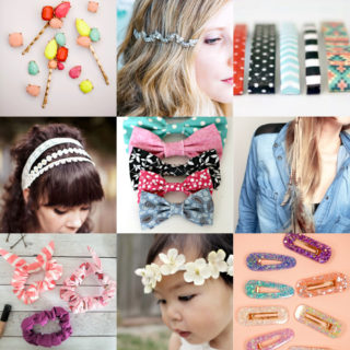 DIY hair accessories feature image