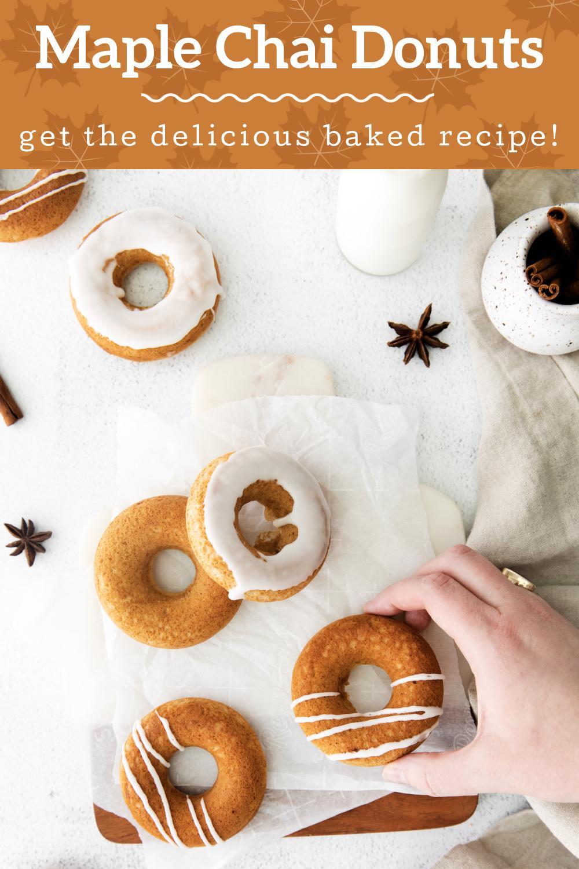 Maple Chai Donuts