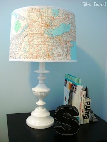 map-covered-lampshade